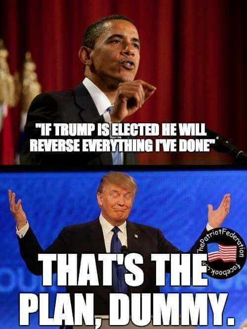 Goodbye Obama.   America won't miss the worst president in the history of America!   I pray Donald Trump wins so everything you did to destroy this country will be reversed.
