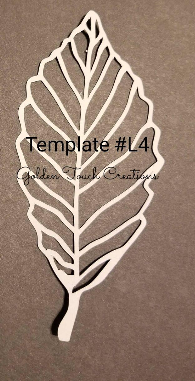 template l4 pdf paper leaf