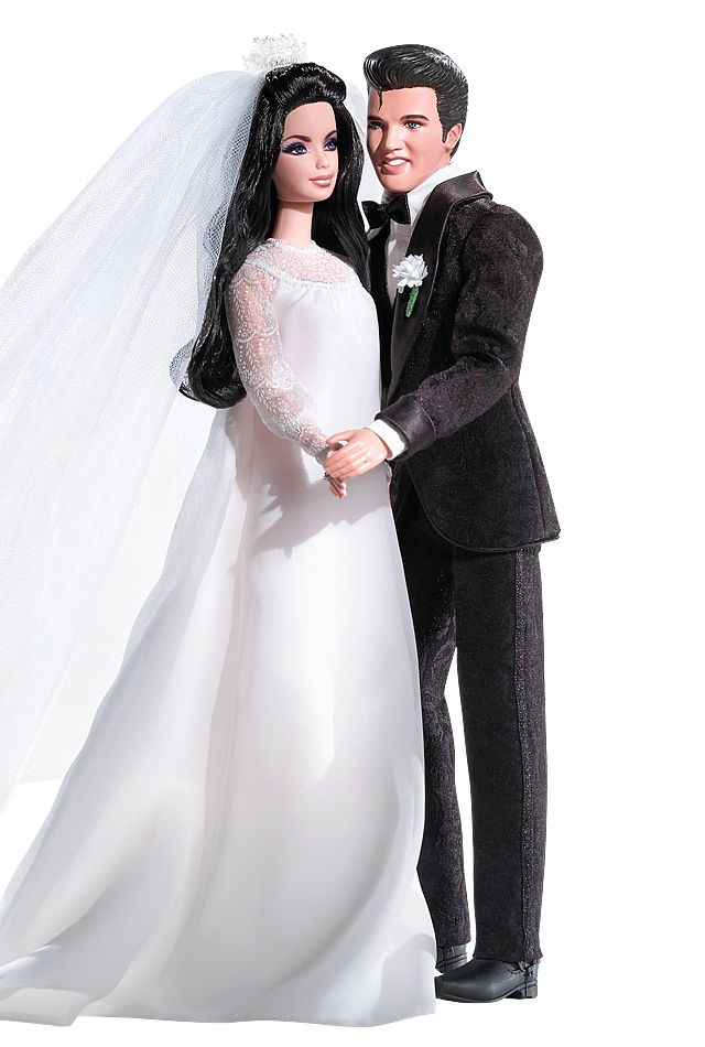 Elvis® and Priscilla Barbie® Doll and Elvis Doll Giftset | Barbie Collector