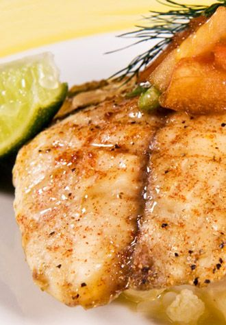 Red Snapper Baked in Orange Juice