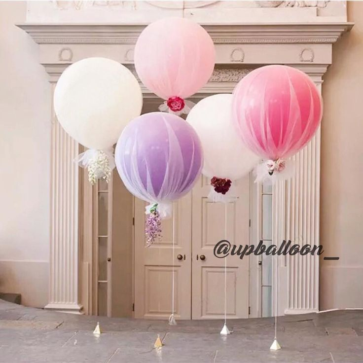 42 отметок «Нравится», 3 комментариев — ᵁᴾ ᴮᴬᴸᴸᴼᴼᴺ (@upballoon_) в Instagram: «Need some sweetness in your life? These tulle balloons is your perfect answer»
