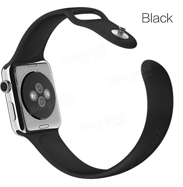 Couleur Series Soft TPU Sports Watchband 38mm 42mm Watch Strap For Apple Watch