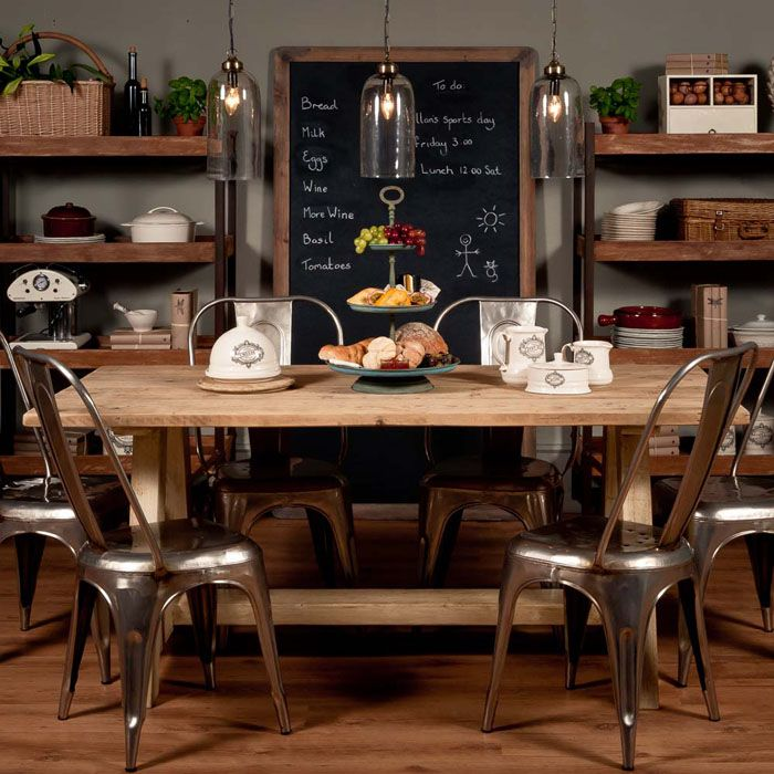 Vintage Industrial Table By Uniche Interior Furnishings