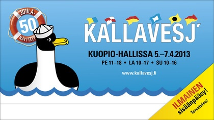 Kallavesj' 2013 -fair has free entrance!