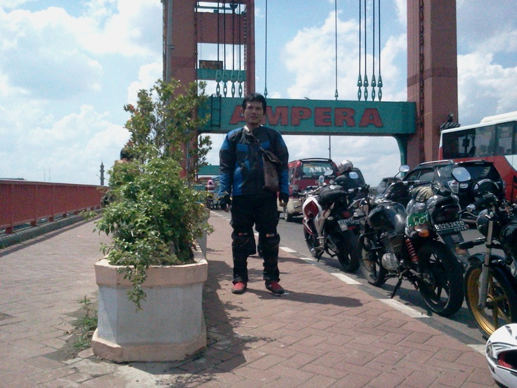 Ampera Bridge, Palembang - South Sumatera