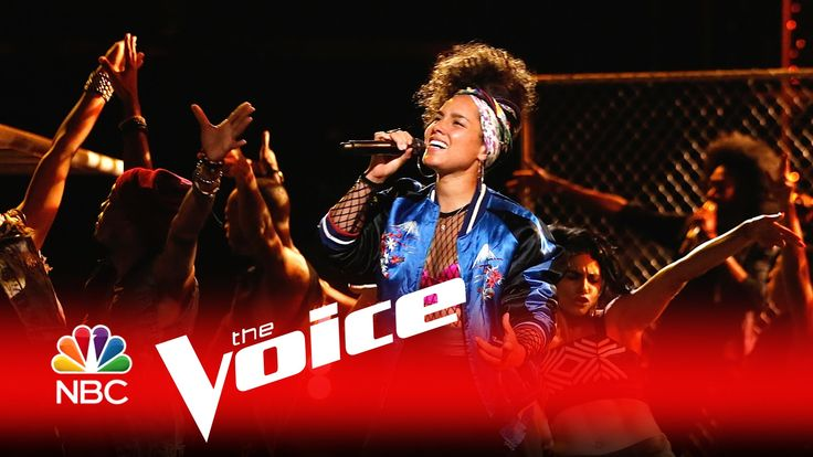 "Alicia Keys: ""In Common"" - The Voice 2016 the beging.. blind sided..Linda.. this is for you, the way I felt, a nice feeling"