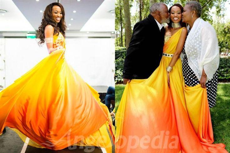 Ntandoyenkosi Kunene flaunts her national dress for Miss World 2016, attracts criticism