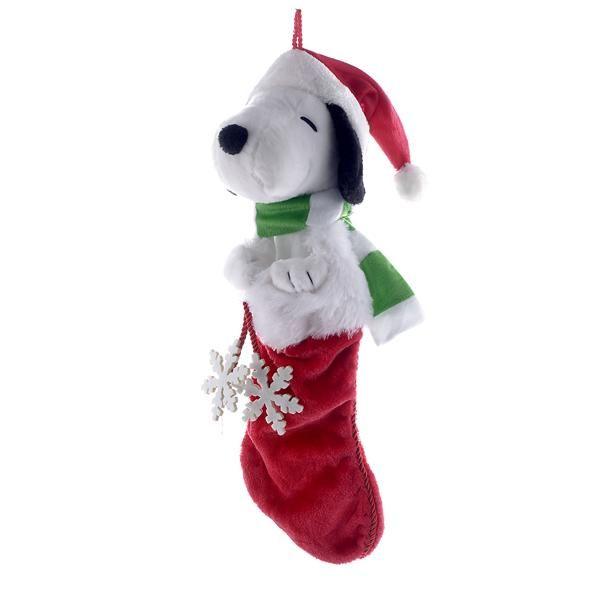 Peanuts Snoopy Plush Head Stocking