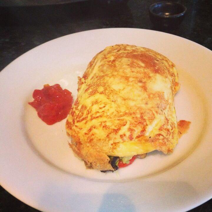 Mayfair omelette, so good!