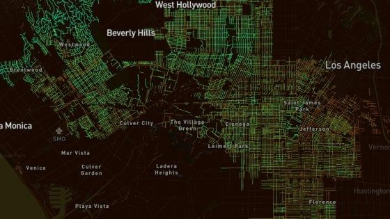 Il Senseable City Lab dell'università USA – guidato dall'italiano Carlo Ratti – ha sviluppato un software che ci mostra la copertura