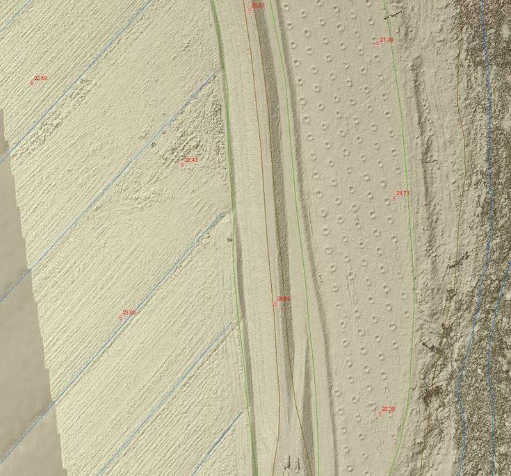 Rilievo aerofotogrammetrico dettagliato dell'argine del Fiume Era a Ponsacco, Ponsacco, 2015 - Alberto Antinori