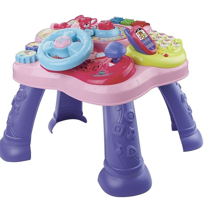 Learning Table Pink VTech Magic Star Standing Toddlers Educational New  #VTech