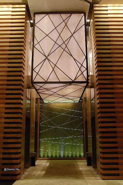 广州富力君悦/Grand Hyatt Guangzhou-22层酒店大堂电梯间/LIFT ROOM LOBBY on 22nd floor   Flickr - Photo Sharing!