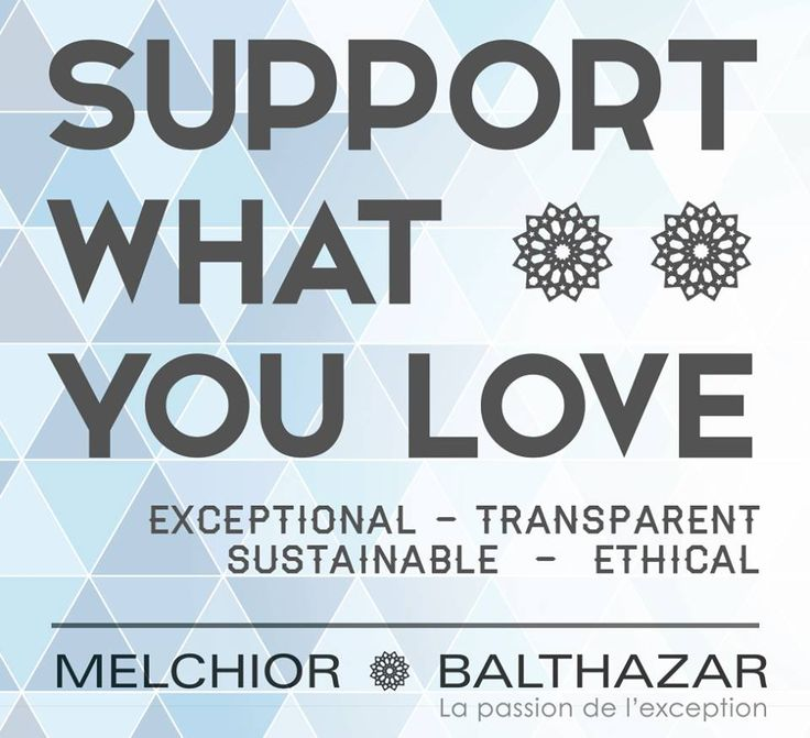 M&B is all about supporting what we love--Exceptional quality, Transparency, Sustainability and Ethically sourced products.