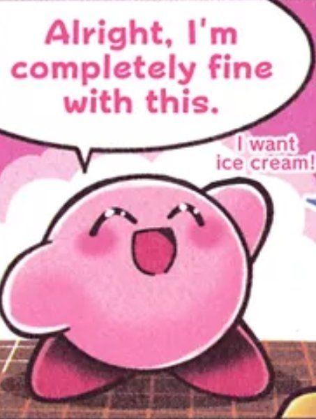 No Context Kirby On Twitter Kirby Memes Kirby Nintendo Kirby Character