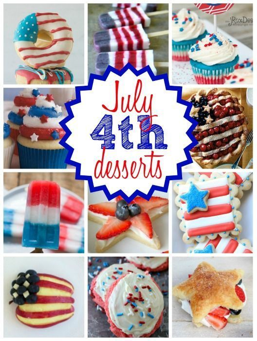 4th of july desserts with cream cheese