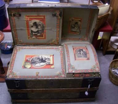 ... antique trunks on Pinterest  Martin omalley, Vintage trunks and Old