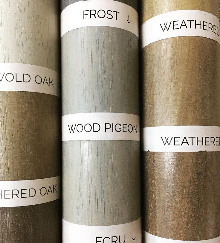 Mondays challenge for Alice....perfecting those wood stains #curtainpole #evolution #walcothousepoles