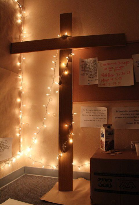 GREAT IDEA!!!! Make a prayer room in my first house.