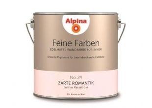 Alpina Innenfarbe Feine Farbe Zarte Romantik, edelmatt 2,5 l - Globus-Baumarkt Shop