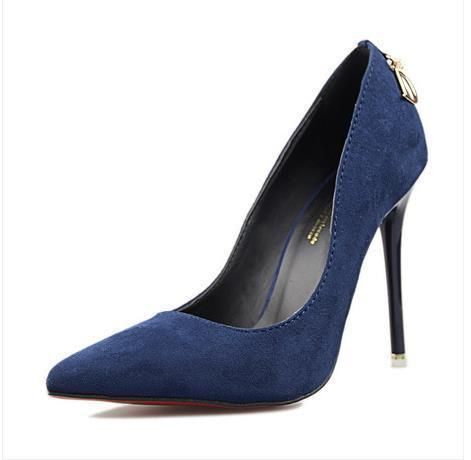 6 Цвет Стадо Женщина Сексуальная Stiletto Острым Носом Обувь Одного ОЛ Элегантные Мелкая Рот На Высоком Каблуке Нагнетает Ботинки