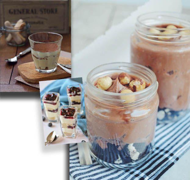 3 λαχταριστές συνταγές για γλυκά στο ποτήρι