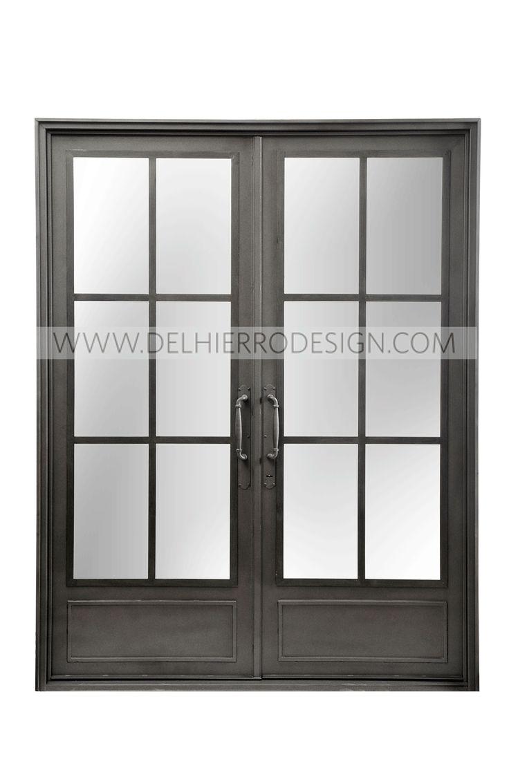 13 best puertas de entrada del hierro design images on - Puertas de vidrio ...