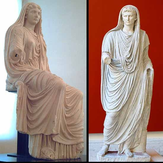 Ancient Roman Clothing For Men: Clothing In Ancient Rome