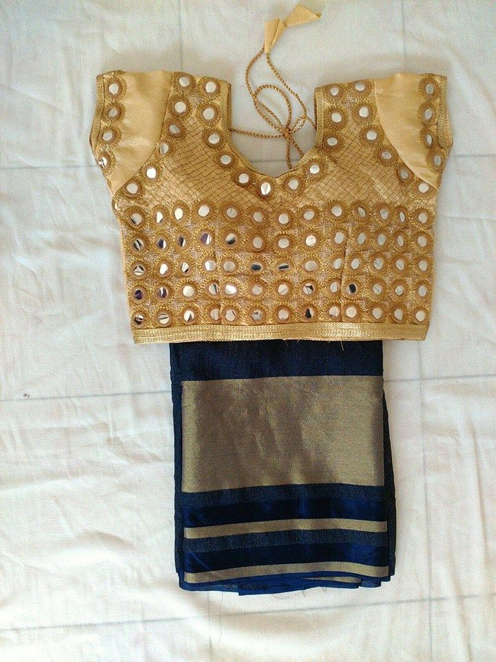 New Collection Georgette Saree And Faux Mirror work Blosues   Buy Online Sarees   Elegant Fashion Wear                                                                                                                                                                                 More