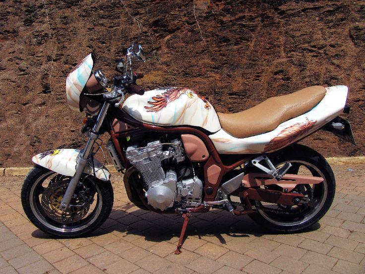 Suzuki Sport   Bandit Eagle painted by PAZ.