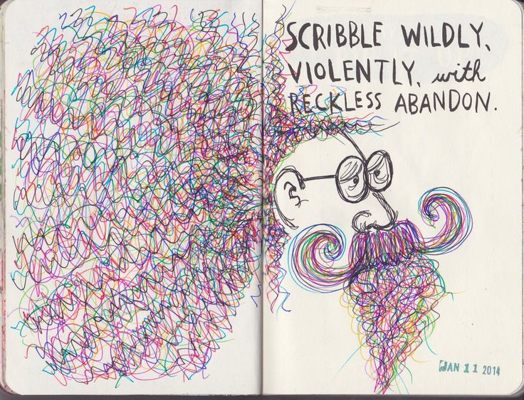 WRECK THIS JOURNAL - Scribble Wildly by n1ckys