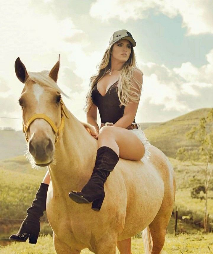 Pov Teen Reiten Cowgirl
