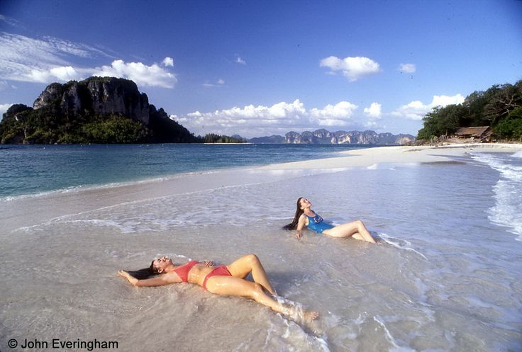 Thailand Beach Girls | measured midway along the Andaman coast at Phuket, but applicable to ...