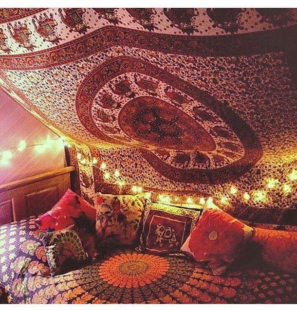 Indiase slaapkamer
