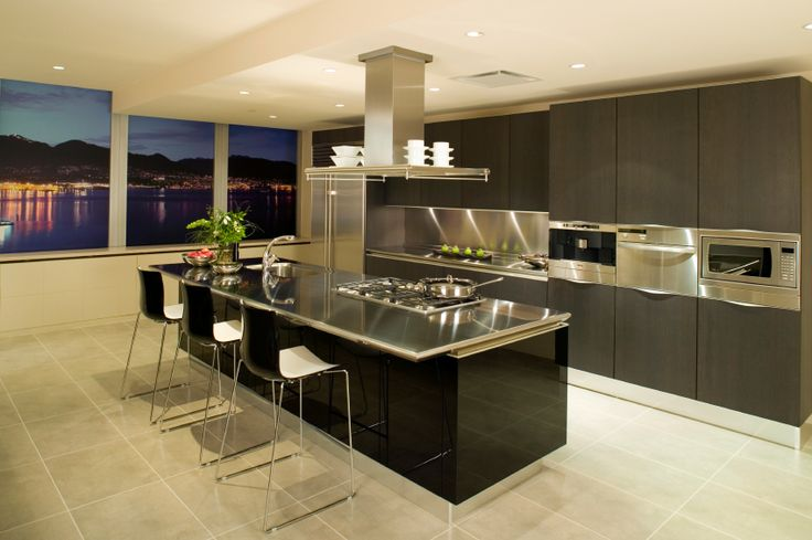 Sleek and modern kitchen the life i dream of and work for Sleek modern kitchen cabinets