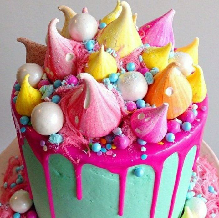 The 25 best ideas about gateau anniversaire original on - Decoration pour gateau d anniversaire ...