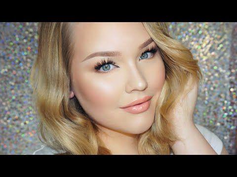 Glowy Daytime Glam Makeup + Hair Tutorial | NikkieTutorials