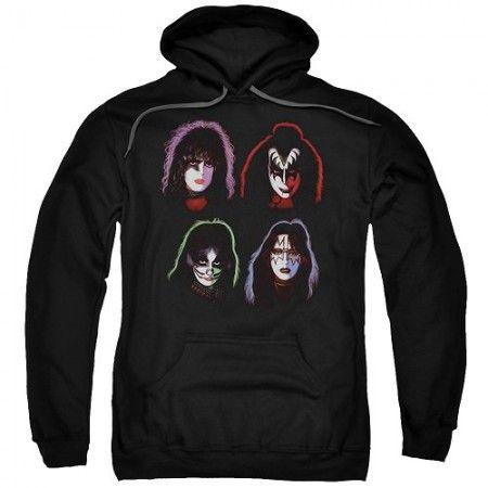 Kiss Solo Albums Hoodie - Kiss Merchandise
