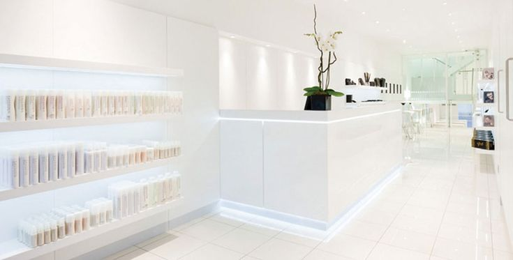 Sassoon Academy: Transformation of a run down Victorian townhouse and mews building in London's Mayfair into a state of the art teaching facility for sixty students, including a retail space and spacious reception.