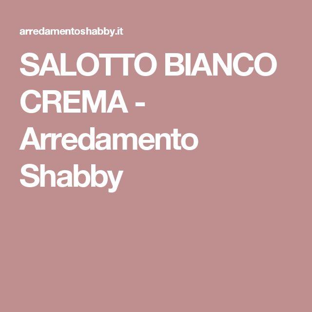 SALOTTO BIANCO CREMA - Arredamento Shabby