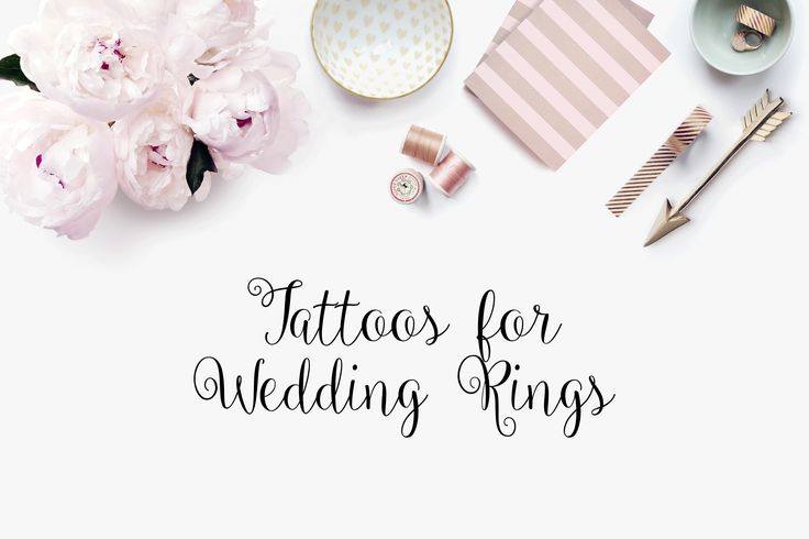 Over time wedding rings have vastly changed. A common trend in this day is a tattoo for your wedding ring. Is there any better way to show your partner that you plan to stay with them for life?