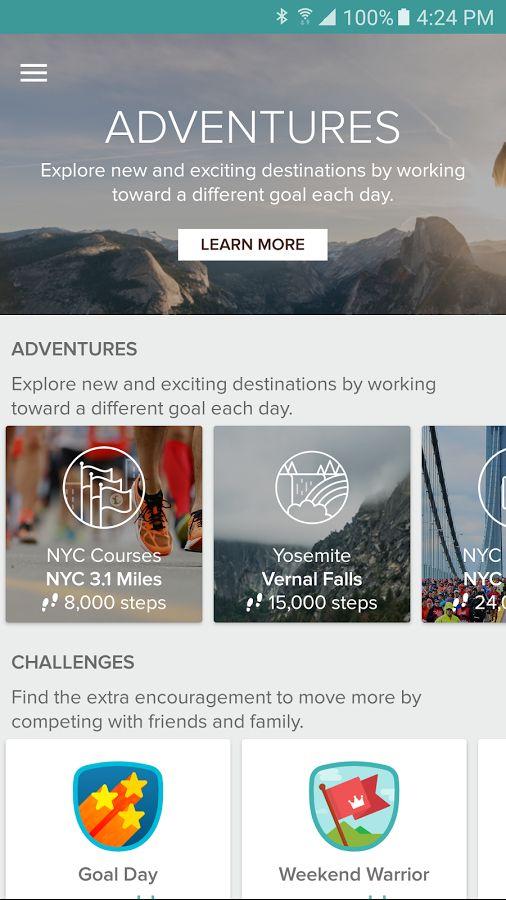 Fitbit- screenshot