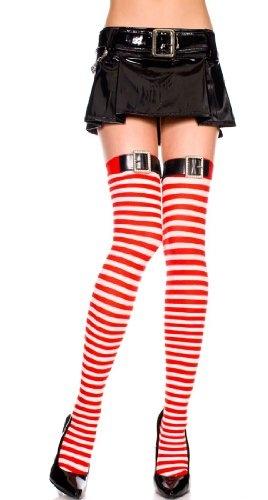 Christmas Holiday Stockings Thigh High Hi w/ « Clothing Impulse
