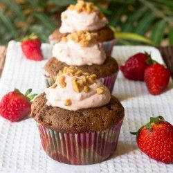 Coffee Toffee Cupcakes