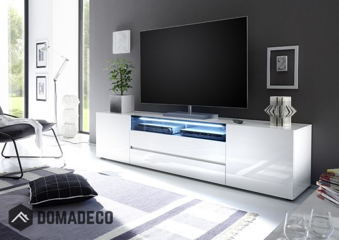 Vicenza 203- Lowboard TV Stand – two doors – two drawers