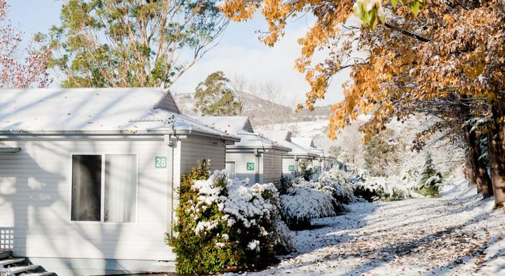 AUD279.20 Overlooking beautiful Lake Jindabyne, this award-winning holiday park features a games room, children's jumping pillow, sauna and tennis court.