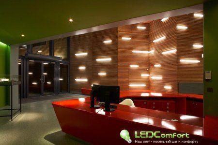 Открытый архитектурный дизайн светодиодного освещения