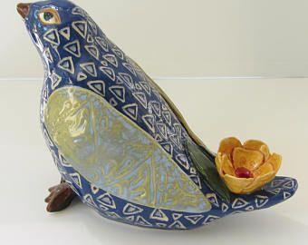 keramische vogel; Keramische kunst; aardewerk vogel; keramiek en aardewerk; keramische sculptuur