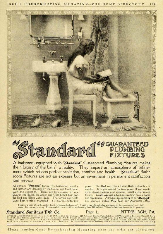 204 best Bathrooms: Vintage & Antique Plumbing images on Pinterest ...