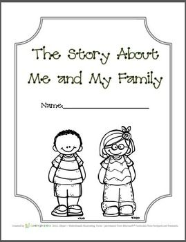 The Story of Me and My Family with Holiday... by Garden Song Kids | Teachers Pay Teachers
